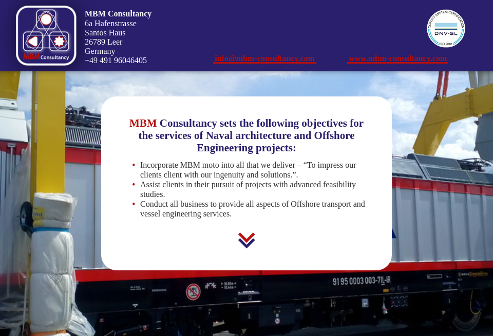 MBM Consultancy - Ship Technology Global | Issue 55 | June 2018